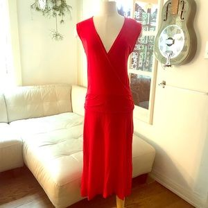 James Perse Red Dress 4